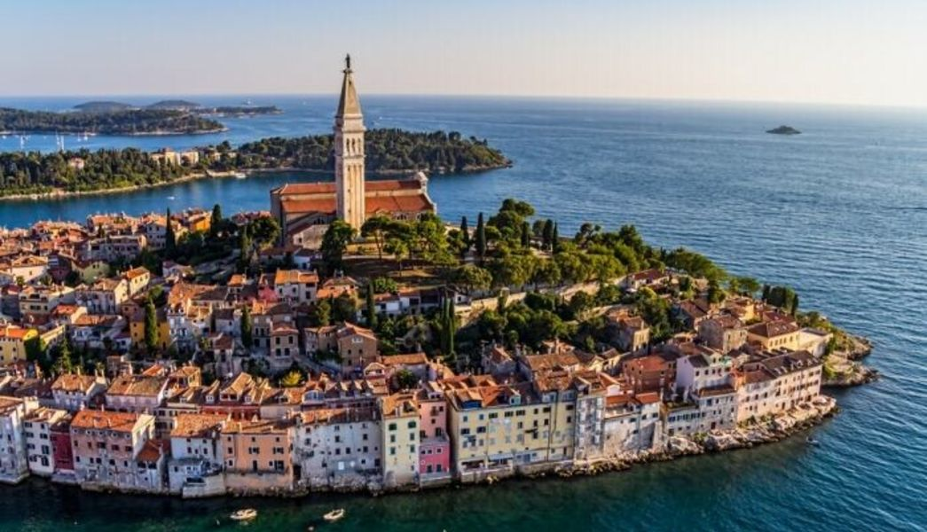 Rovinj in Istrien - Kroatien